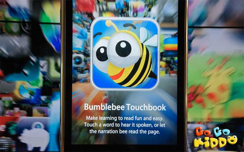 Bumblebee touch book