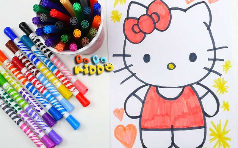 Lets draw with kids