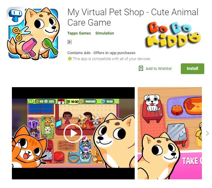 My Virtual Pet Shop 2