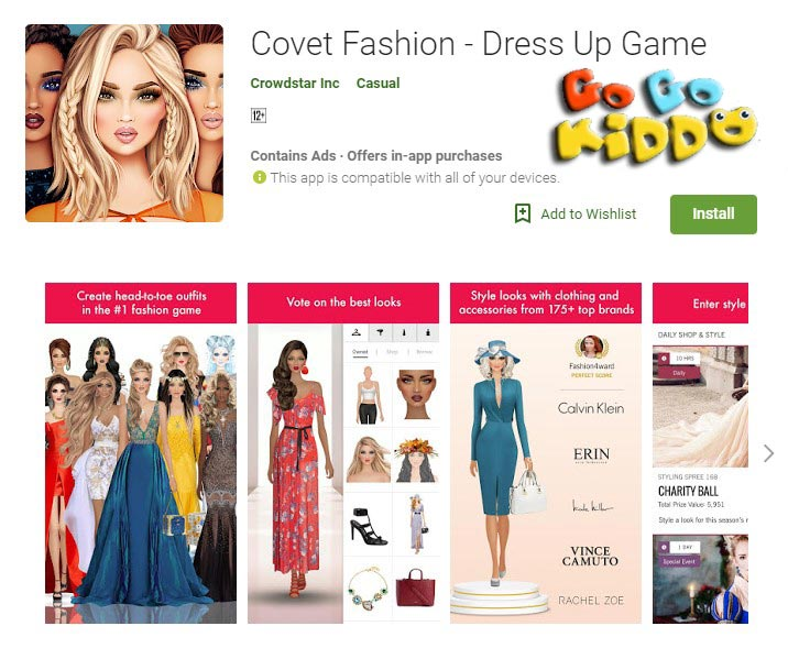 Covet Fashion-Dress Up Game