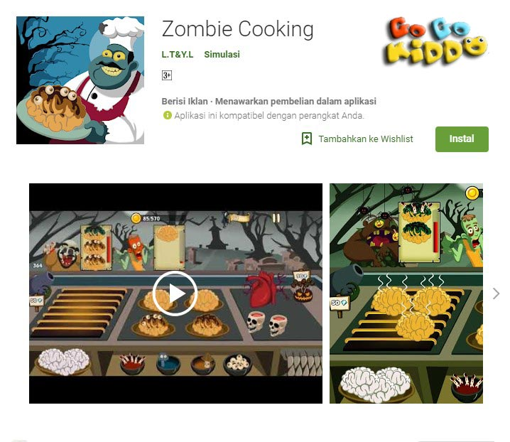 Zombie Cooking